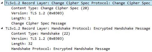 Change Cipher Spec Protocol