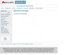 XSS Vulnerable Sites 7