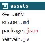 node.js .env files